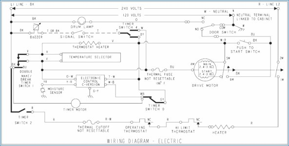 kenmore dryer wiring diagram Download-Awesome Kenmore 110 Dryer Wiring Diagram Simple Wiring 13-s