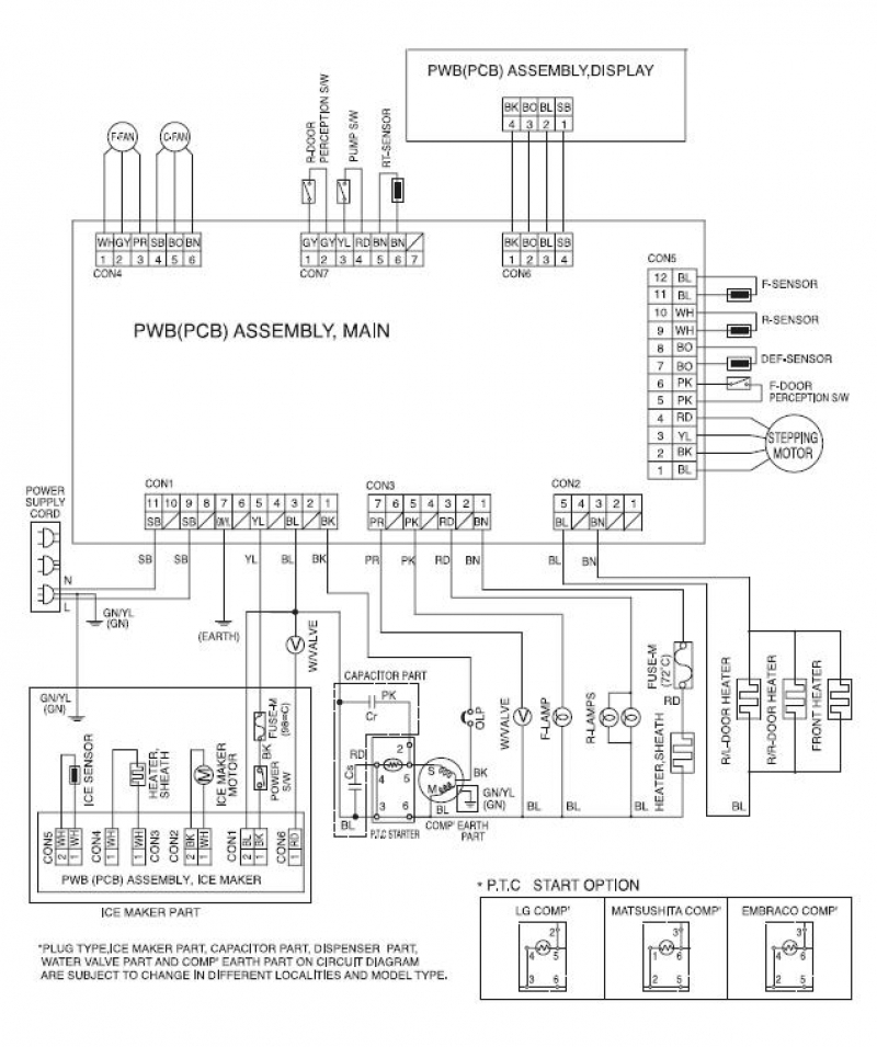 kenmore refrigerator wiring diagram Download-Kenmore Refrigerator Wiring Diagram Elegant Kenmore Elite 795 Circuit Diagram 16-r