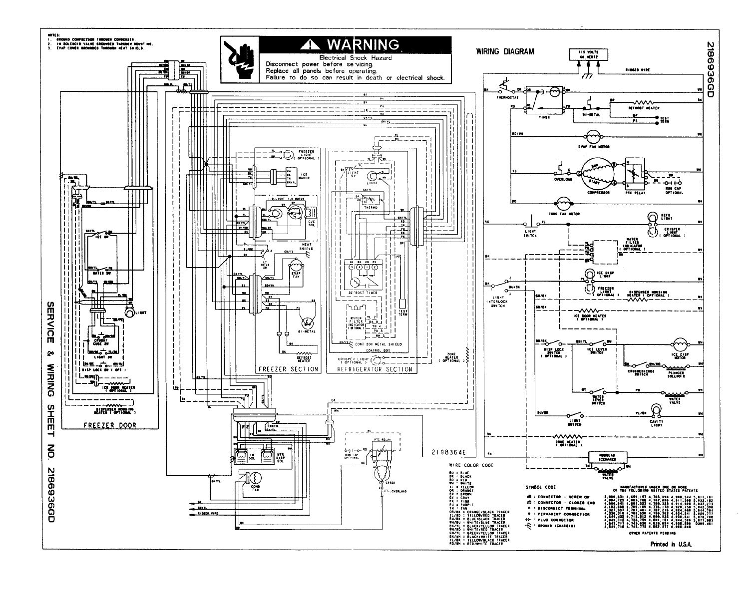 kenmore side by side refrigerator wiring diagram Collection-Generous Kenmore Refrigerator Wiring Diagram Contemporary Best Elite 10-p