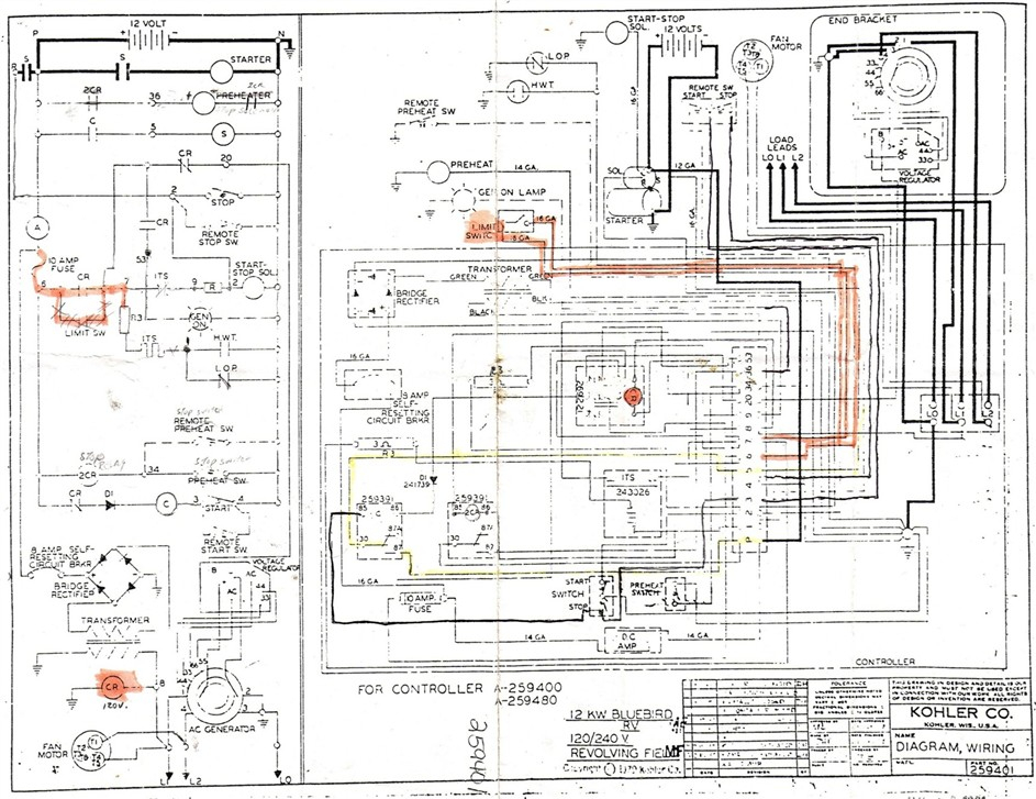 Kohler Transfer Switch Wiring Diagram Gallery