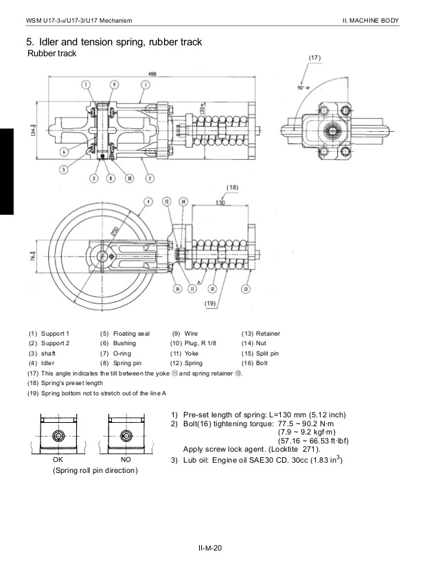 kubota kx121 3 wiring diagram Download-kubota u173 micro excavator service repair manual 60 638 18-p