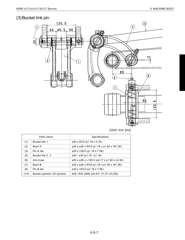 kubota kx121 3 wiring diagram Download-kubota u173 micro excavator service repair manual 71 638 1-f