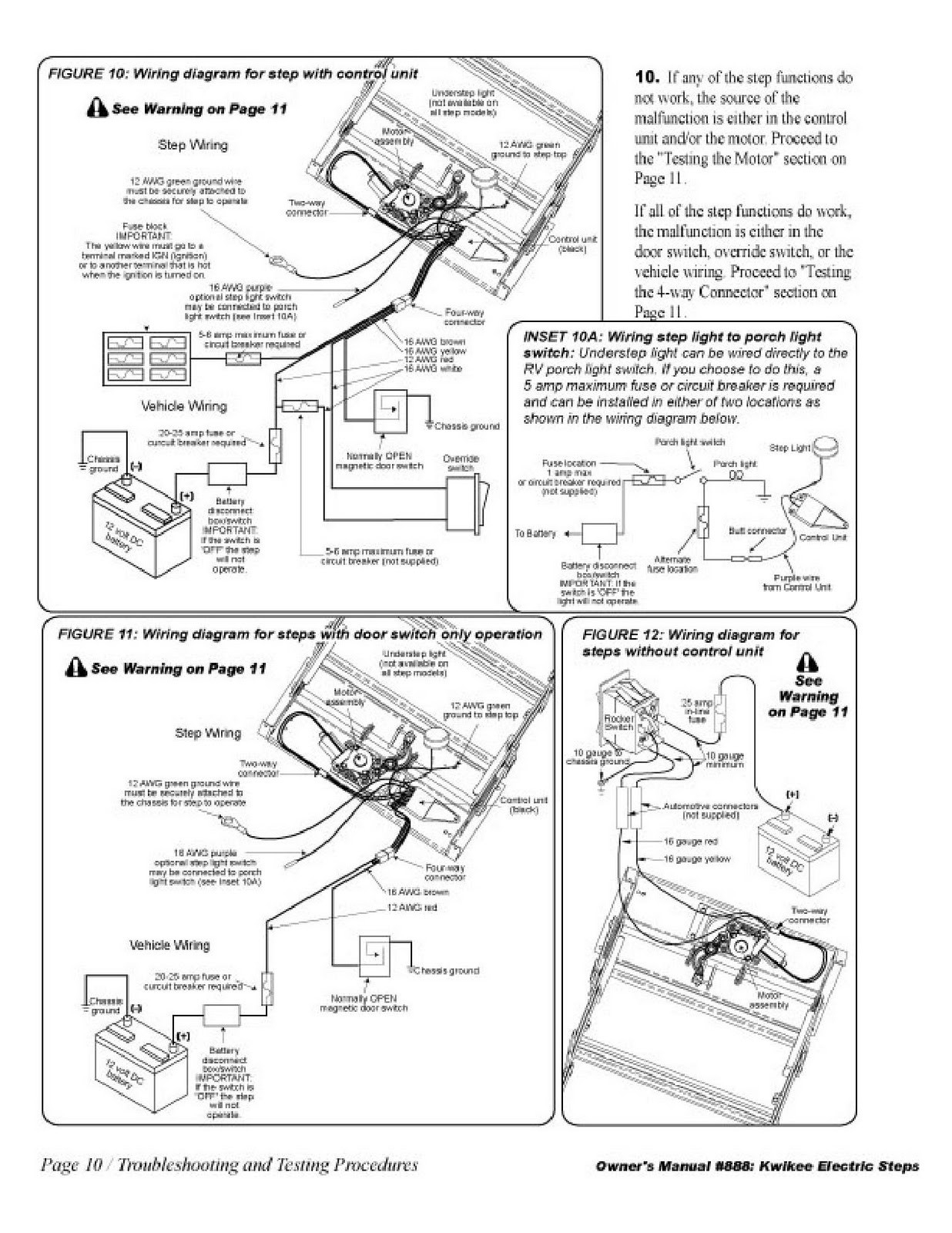 kwikee electric step wiring diagram Download-Wiring Diagram For Rv Steps New Diagram Kwikee Electric Step Wiring Diagram Pdfkwikee Pdf 83 14-n