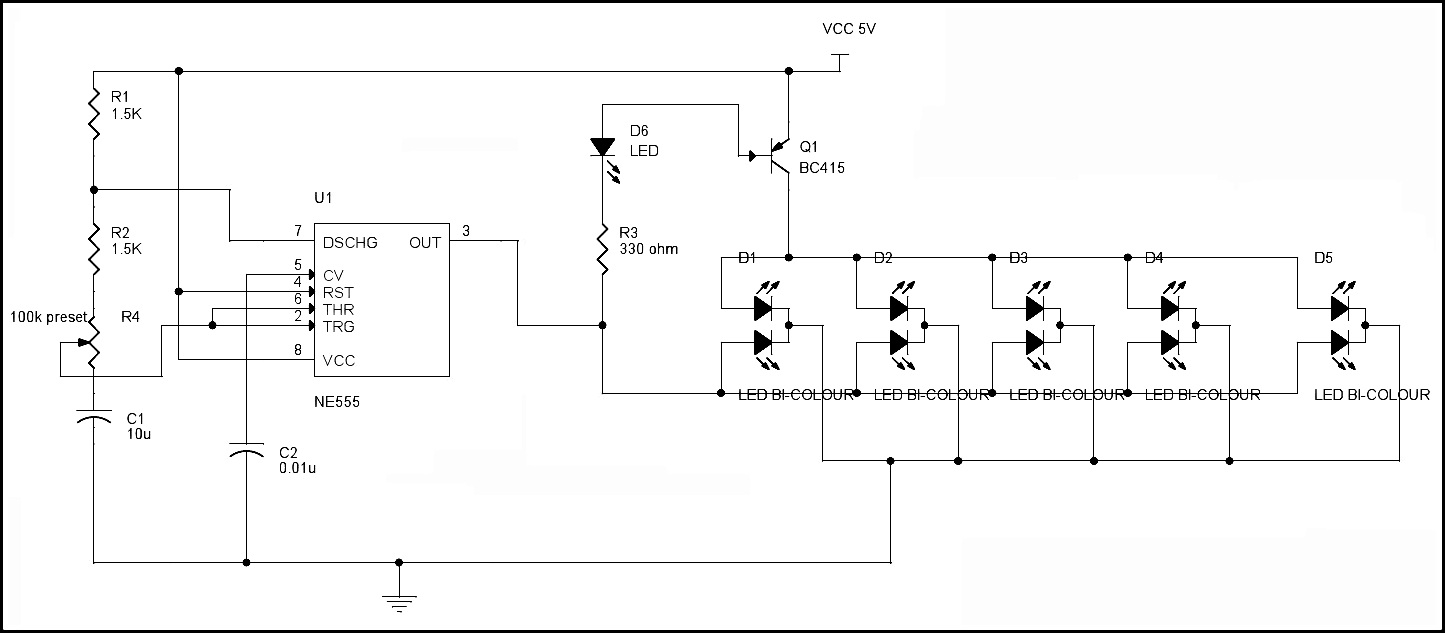 led flasher wiring diagram Collection-LED Flasher Circuit Diagram 17-k