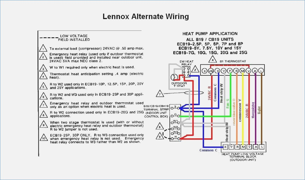 lennox wiring diagram Download-Lennox Wiring Diagram Collection 5-b