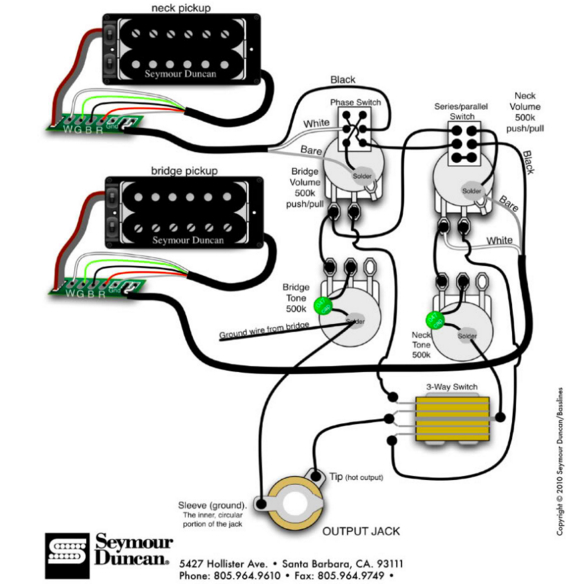 les paul standard wiring diagram Collection-Here s the wiring diagram 1-h