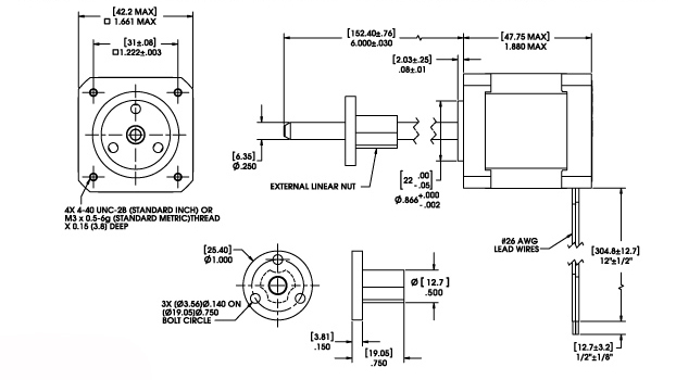 linear actuator wiring diagram Download-Size 17 Double Stack Series External Linear Actuator 3-q