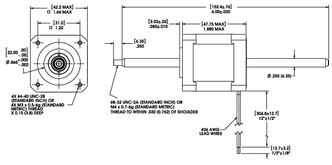 linear actuator wiring diagram Download-Size 17 Double Stack Series Non Captive Linear Actuator 16-l