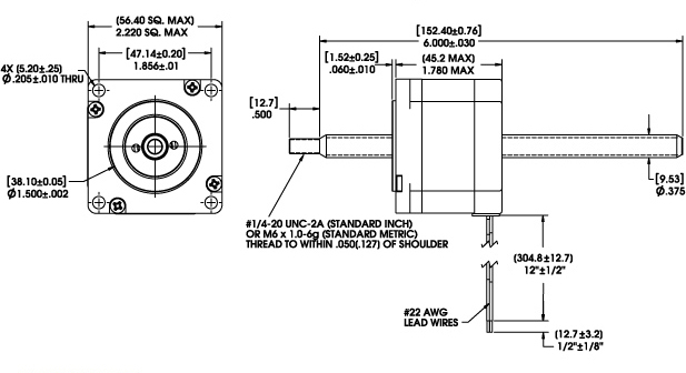 linear actuator wiring diagram Download-Size 23 Series Non Captive Linear Actuator Dimensional Drawing 3-s