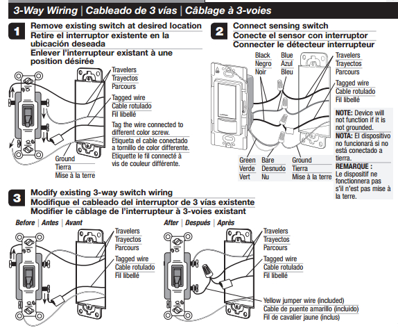 lutron 3 way dimmer switch wiring diagram Collection-3 way wiring diagram 3-b
