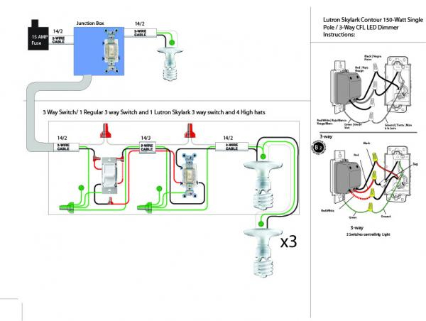 lutron single pole dimmer switch wiring diagram Download-Lutron Dimmer Switch Wiring Diagram New Dimmer Switch Wiring Diagram & 3 Way Switch Wiring 1-l