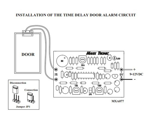 magnetic door contact wiring diagram sample