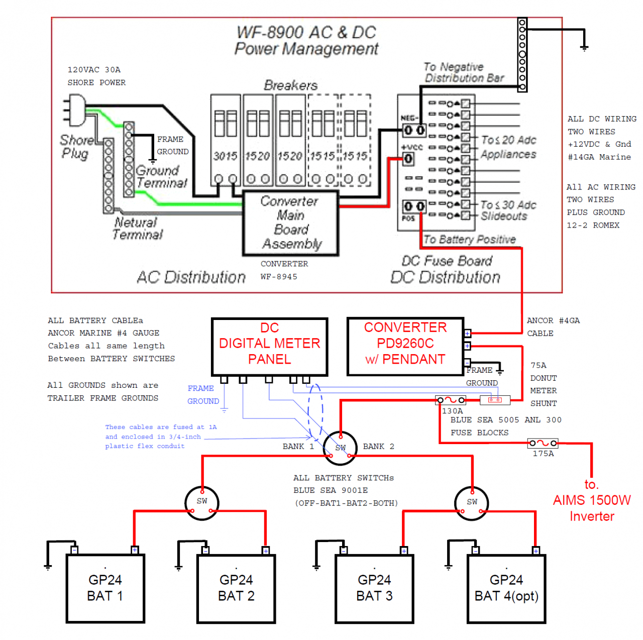 marine inverter charger wiring diagram Download-Marine Inverter Charger Wiring Diagram Luxury Dual Battery Wiringagram System Boat Car Audio 4x4 Switch Wiring 11-b