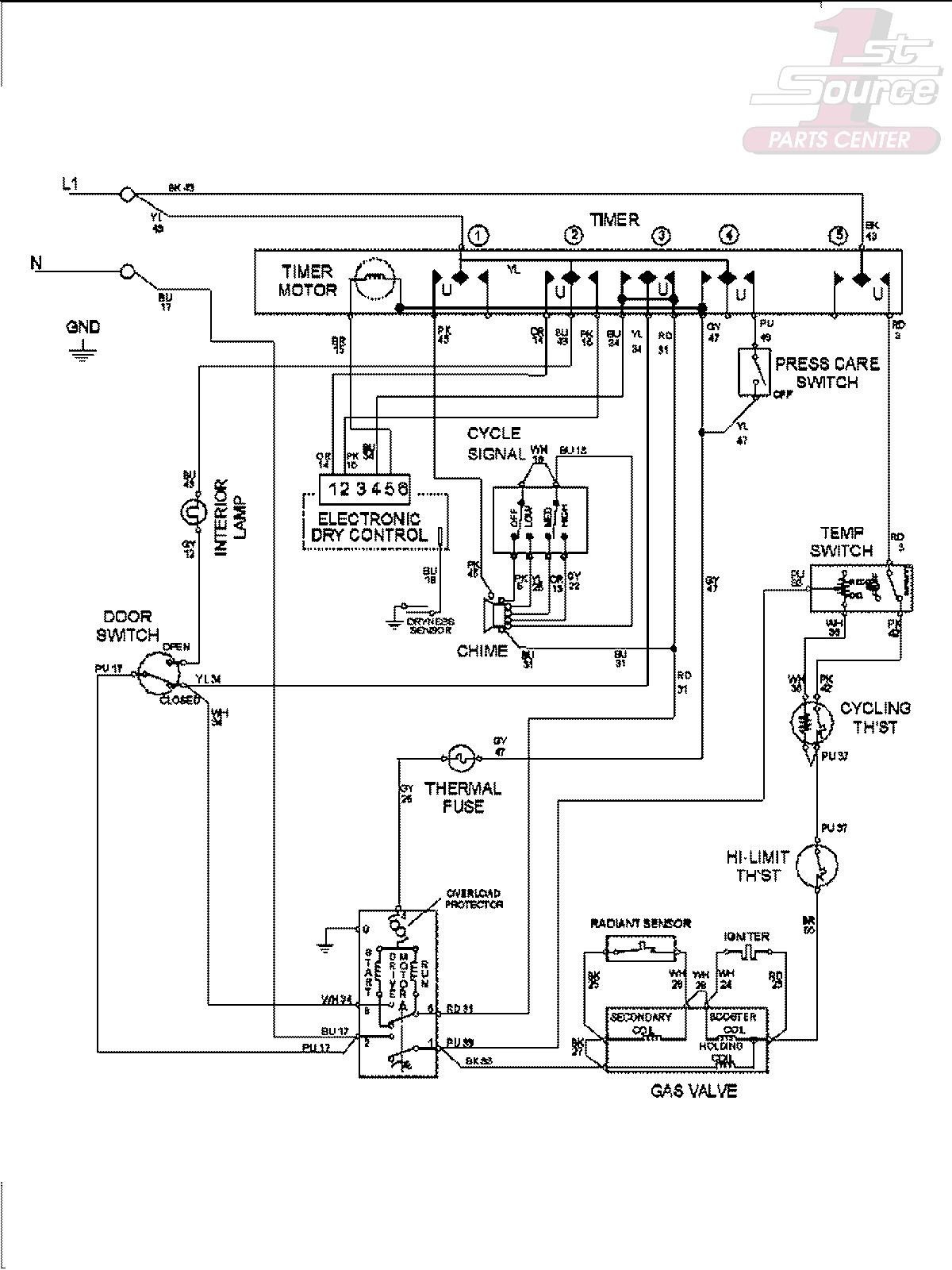 maytag centennial washer wiring diagram Collection-Wiring Diagram For Maytag Centennial Dryer Save Wiring Diagram For A 2-p