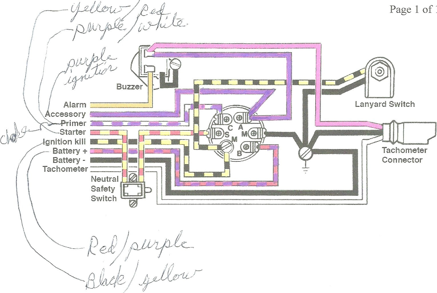 mercury outboard wiring diagram Collection-mercury outboard wiring harness diagram Download switch wiring diagram on mercury 60hp outboard motor wiring DOWNLOAD Wiring Diagram 19-p