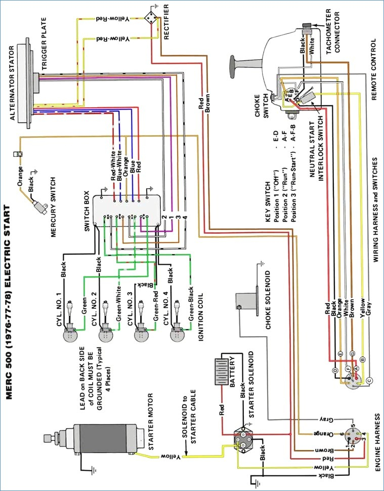 mercury outboard wiring diagram Collection-Outstanding Mercruiser Thunderbolt Ignition Wiring Diagram Ideas · Mercury Outboard 12-o