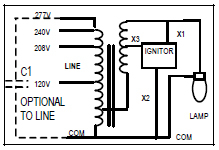 Metal       Halide       Ballast    Wiring    Diagram    Gallery   Wiring Collection