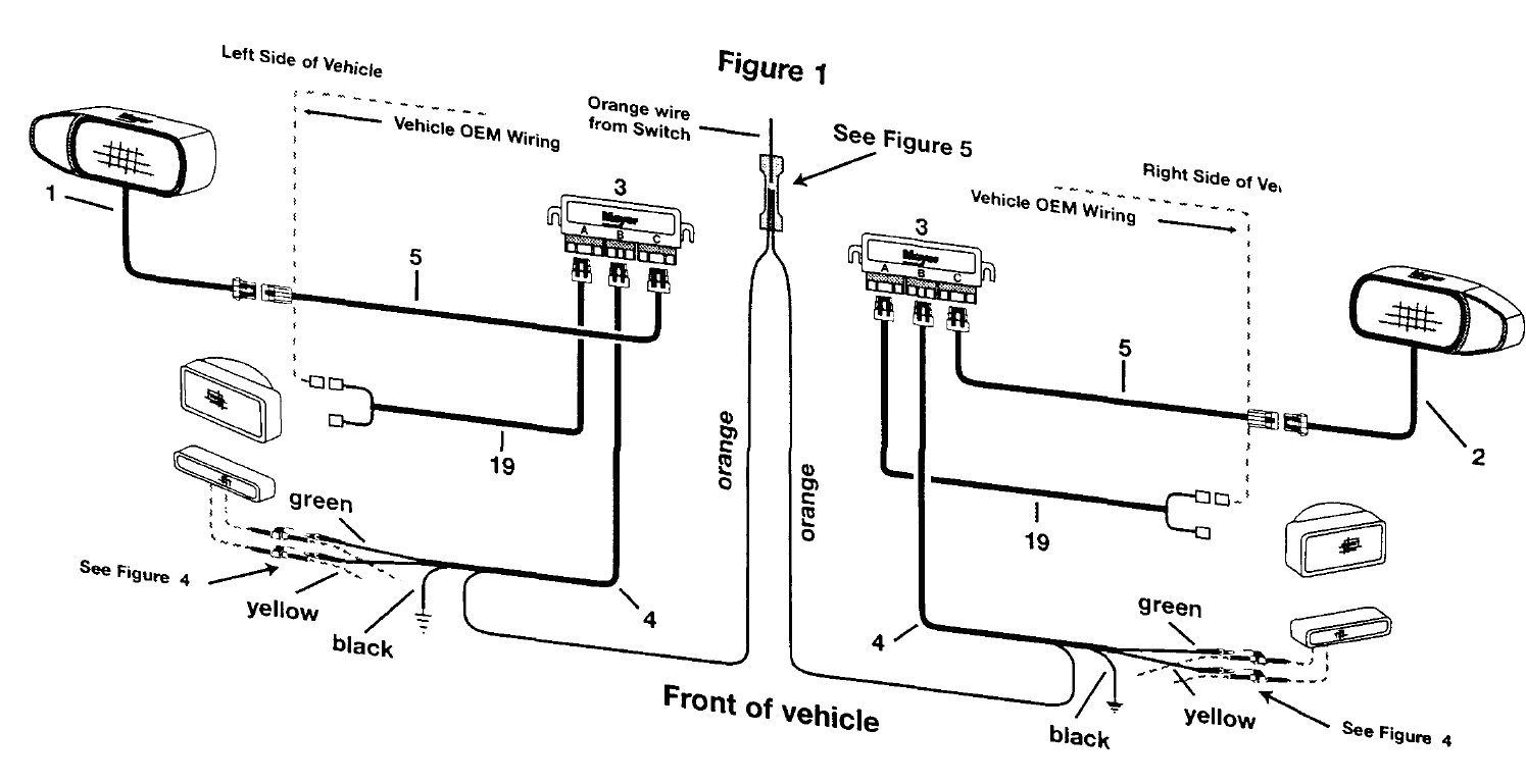 meyer snow plow lights wiring diagram Collection-Wiring Diagram For Meyer Snow Plow Meyers Plows At Headlights 1-k