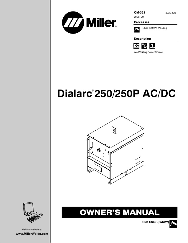 miller foot pedal wiring diagram Download-Dialarc 250 250P AC DC Processes Description R Stick SMAW Welding Arc Miller 1-m