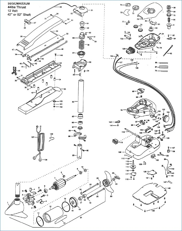 minn kota wiring diagram manual Download-Minn Kota 65 Trolling Motor Parts 18-q