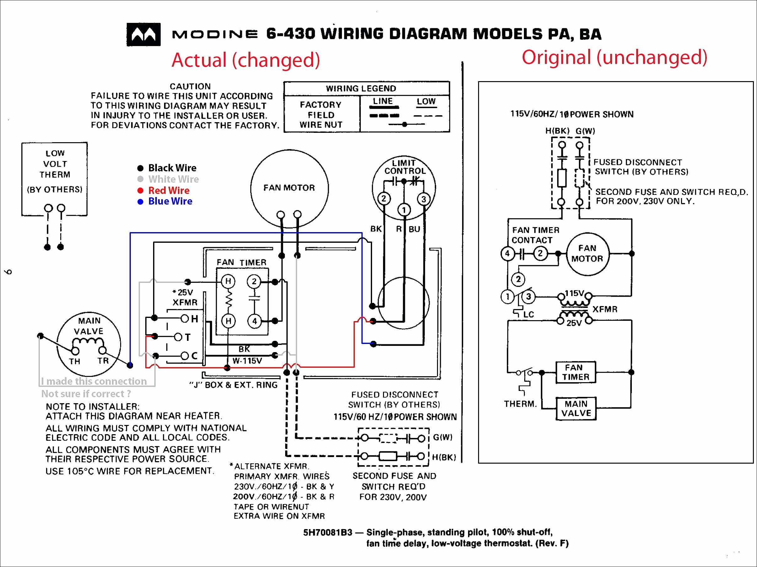 modine gas heater wiring diagram Collection-Modine Heater Parts Diagram for Amazing Trane Gas Furnace Wiring Diagram Image Electrical Diagram 12-c