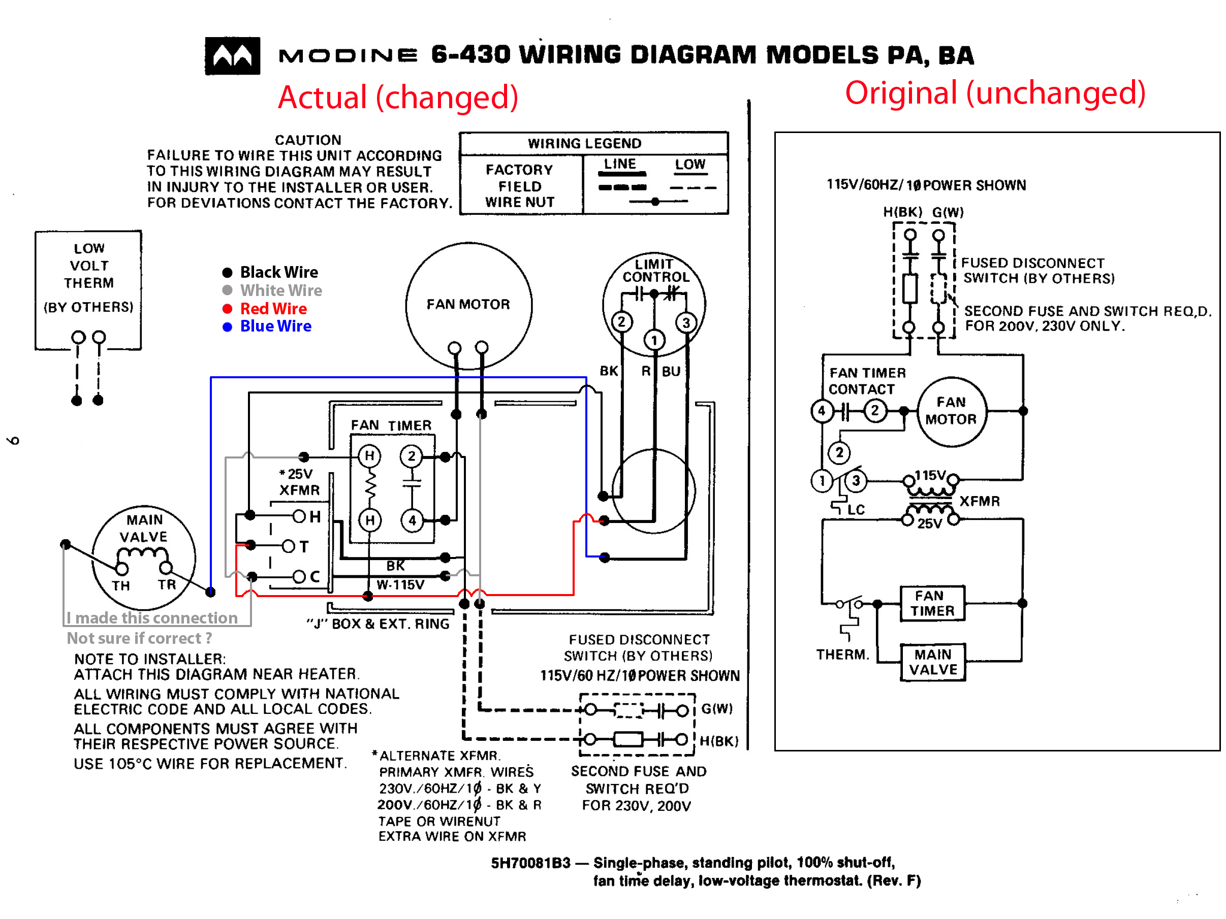 modine heater wiring diagram Collection-Modine Gas Heater Wiring Diagram New Beautiful Gas Heater Wiring Diagram Inspiration 10-h