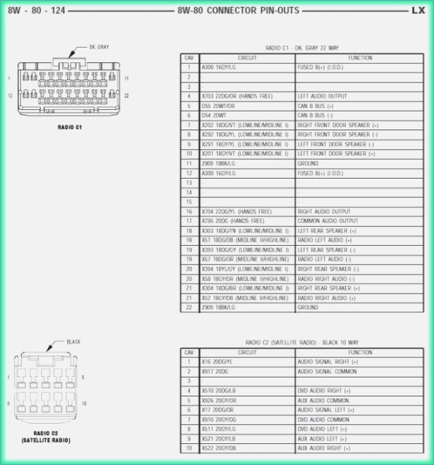 mopar wiring diagram Collection-2007 Chrysler Pacifica Radio Wiring Diagram New 2005 Chrysler Wiring Diagram Free Wiring Diagrams 9-t