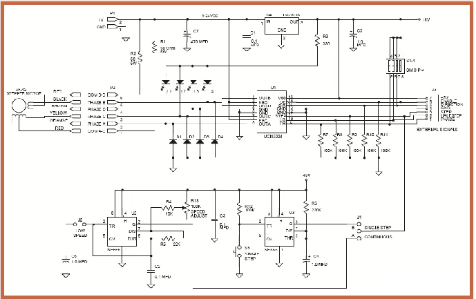 motor control panel wiring diagram Collection-Speed Control Stepper Motor Circuit Diagram 9-t