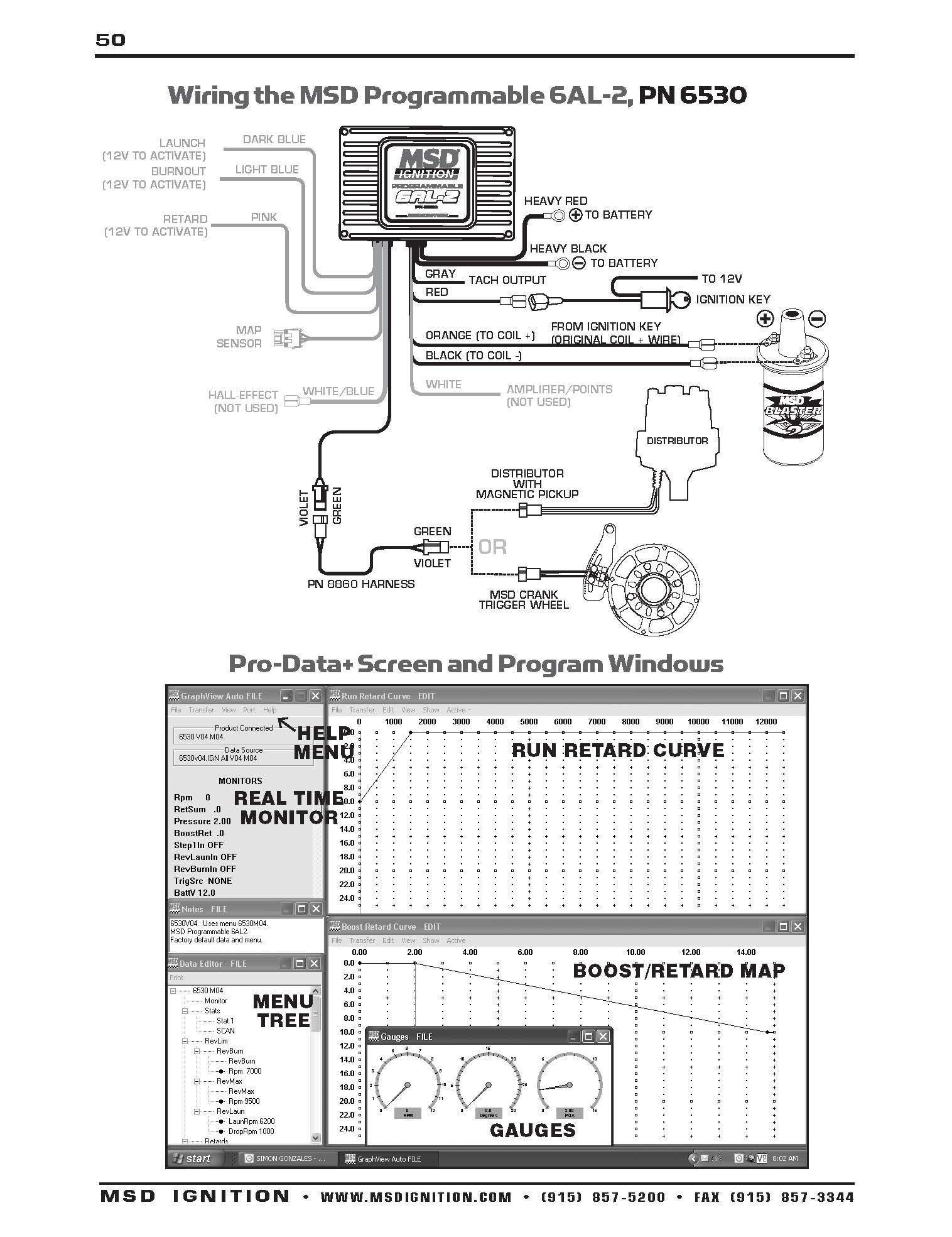 msd 6425 wiring diagram Download-Chevy Hei Wiring With Msd 6al To Diagram For Pn 6425 WIRING DIAGRAM Bright 6-h