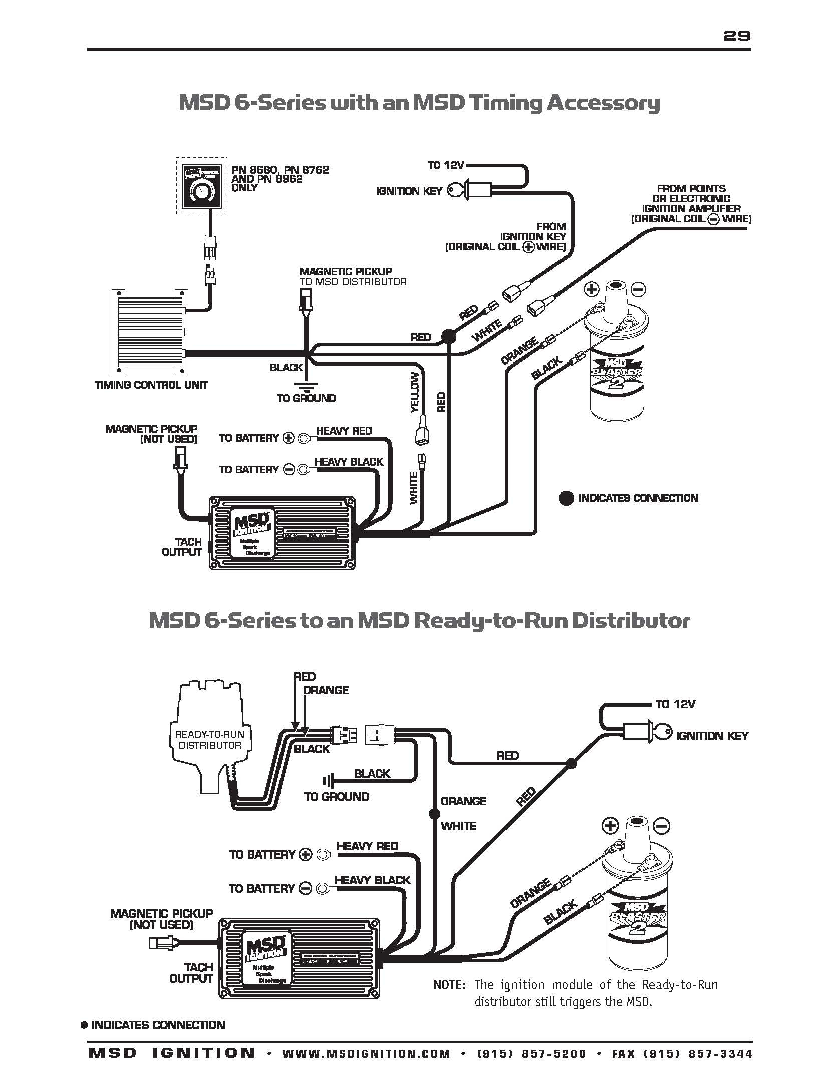msd 6al 2 wiring diagram Collection-msd 6al 2 wiring Download Msd Ignition Wiring Diagrams With Distributor Diagram To 9 16-n