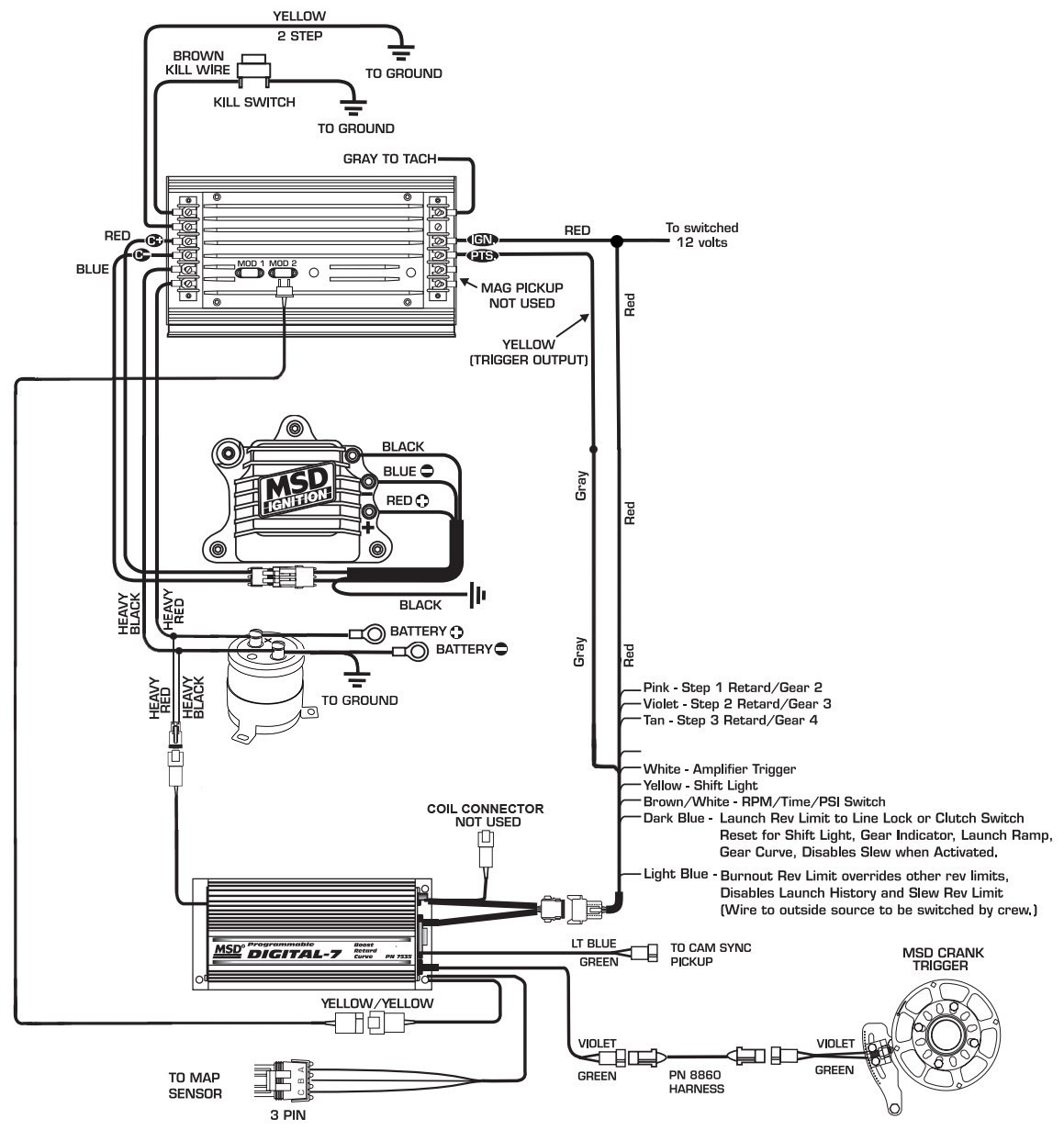 msd 6al 2 wiring diagram Collection-Msd Digital 6al Wiring Diagram Awesome Wire 7 17-l