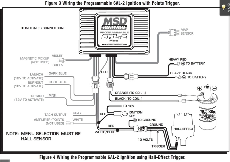 msd 6al 2 wiring diagram Download-Msd Programmable 6al Digital Wiring Diagram 2 Schematic 7-g