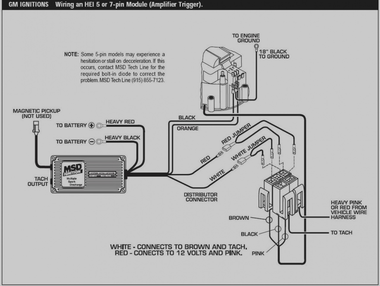 msd 6al hei wiring diagram Download-27 Wiring Diagram For A Msd 6al 6Al To Hei Autoctono Me 11-l