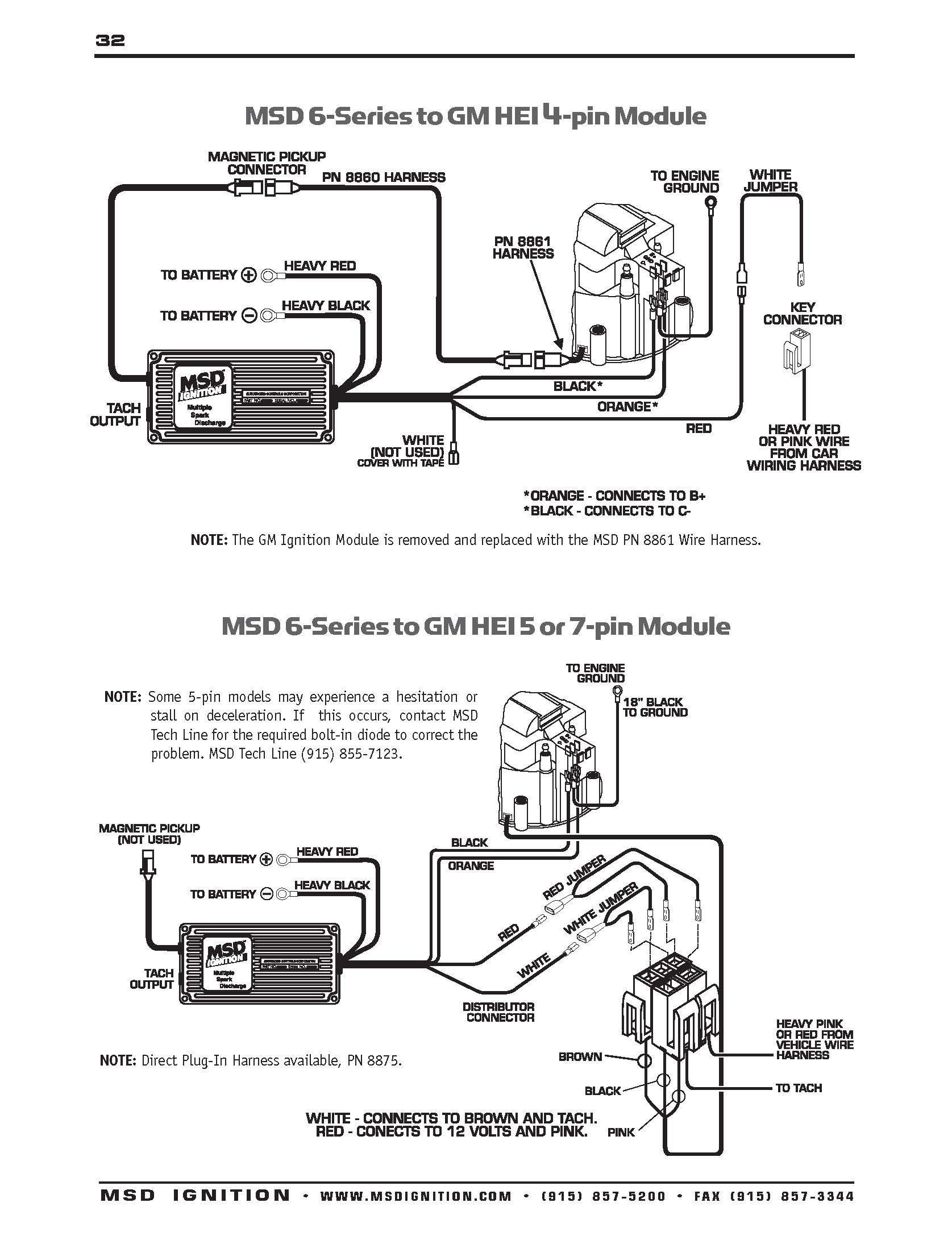 msd 6al hei wiring diagram Collection-350 hei msd wiring diagram autos weblog wire center u2022 rh casiaroc co msd 6a wiring diagram gm 12-r