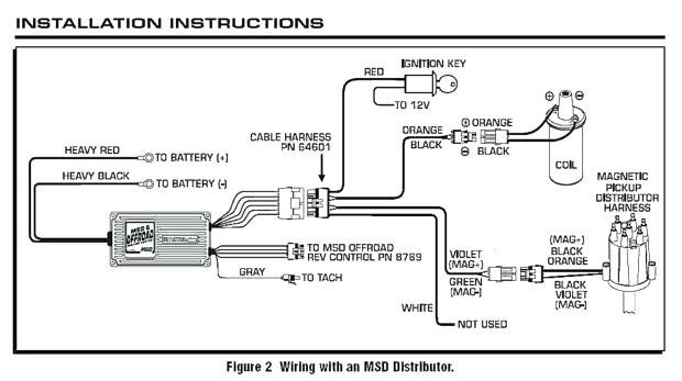 msd atomic efi wiring diagram Collection-Msd Electronic Ignition System Unique Wiring Diagram for Trailer Lights Distributor Page Experimental Msd 11-s