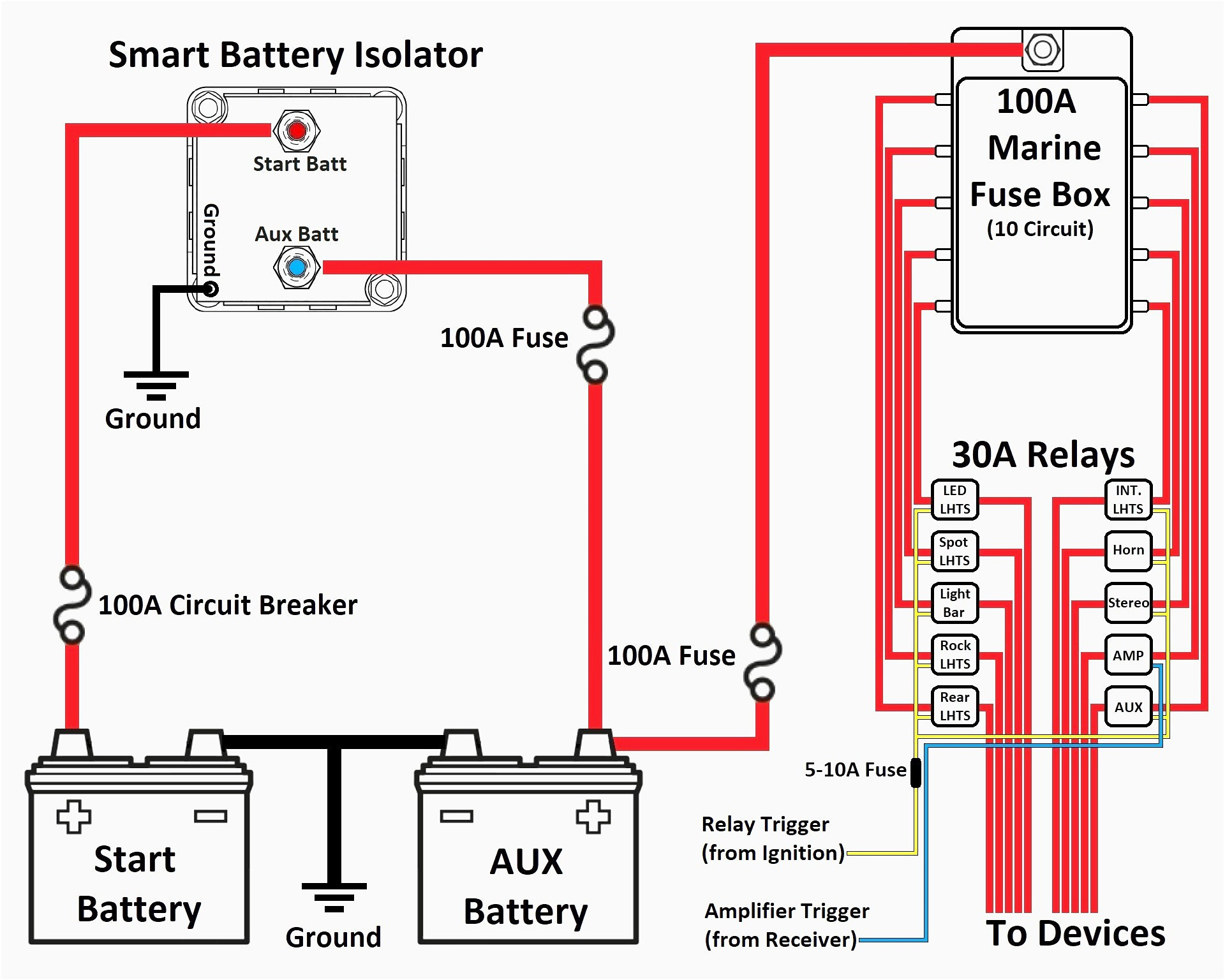 multi battery isolator wiring diagram Download-Battery isolator Wiring Diagram New Battery isolator Wiring Diagram Webtor Ideas Collection Battery 14-k