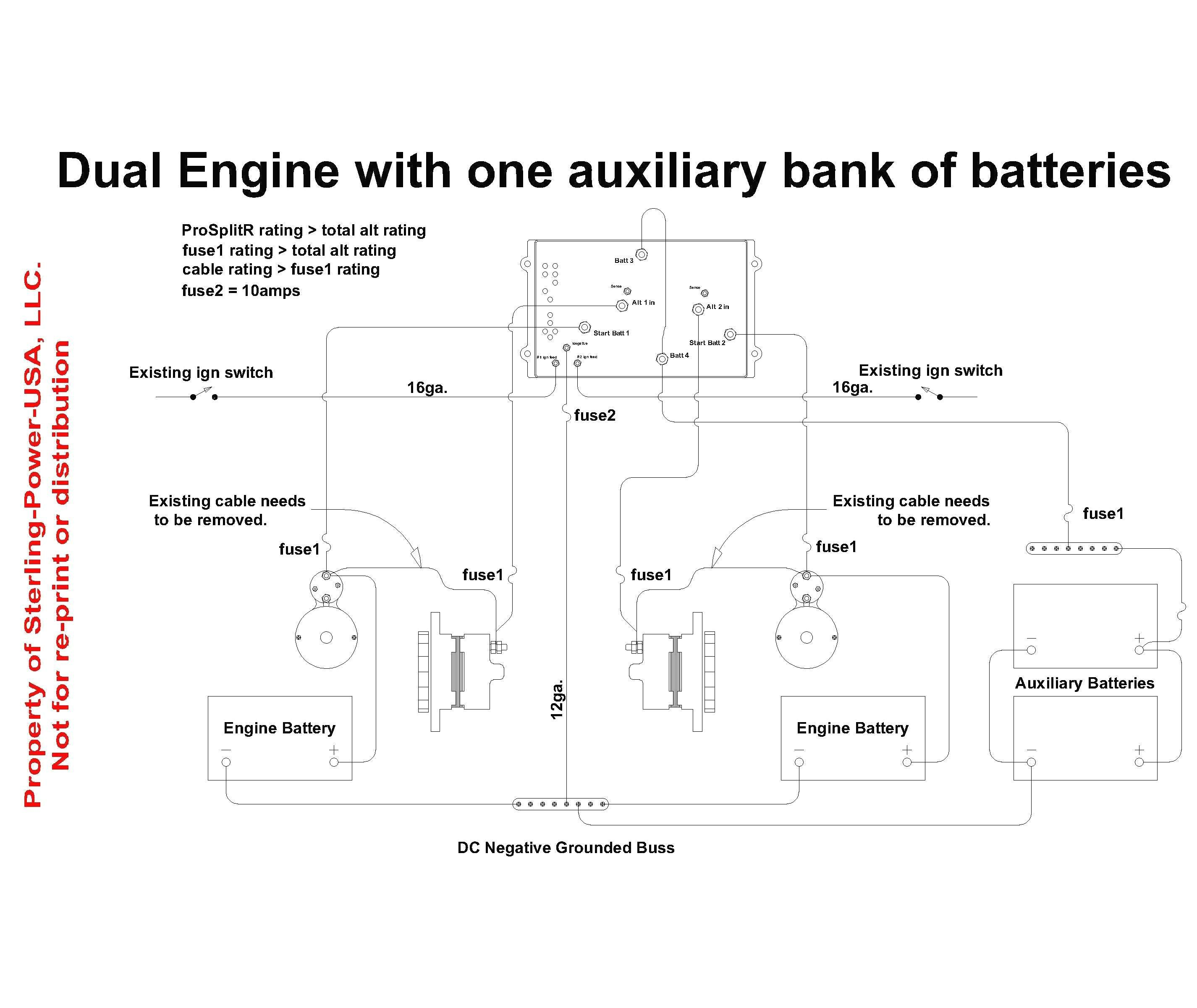 multi battery isolator wiring diagram Download-Battery isolator Wiring Diagram Unique Great Boat Battery isolator Wiring Diagram Boat Battery isolator 4-l