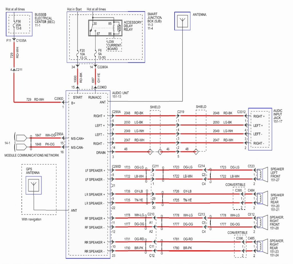 mustang wiring diagram Collection-wiring diagram 2001 ford ranger stereo wiring diagram lovely 1986 ford f150 radio wiring diagram 2-i