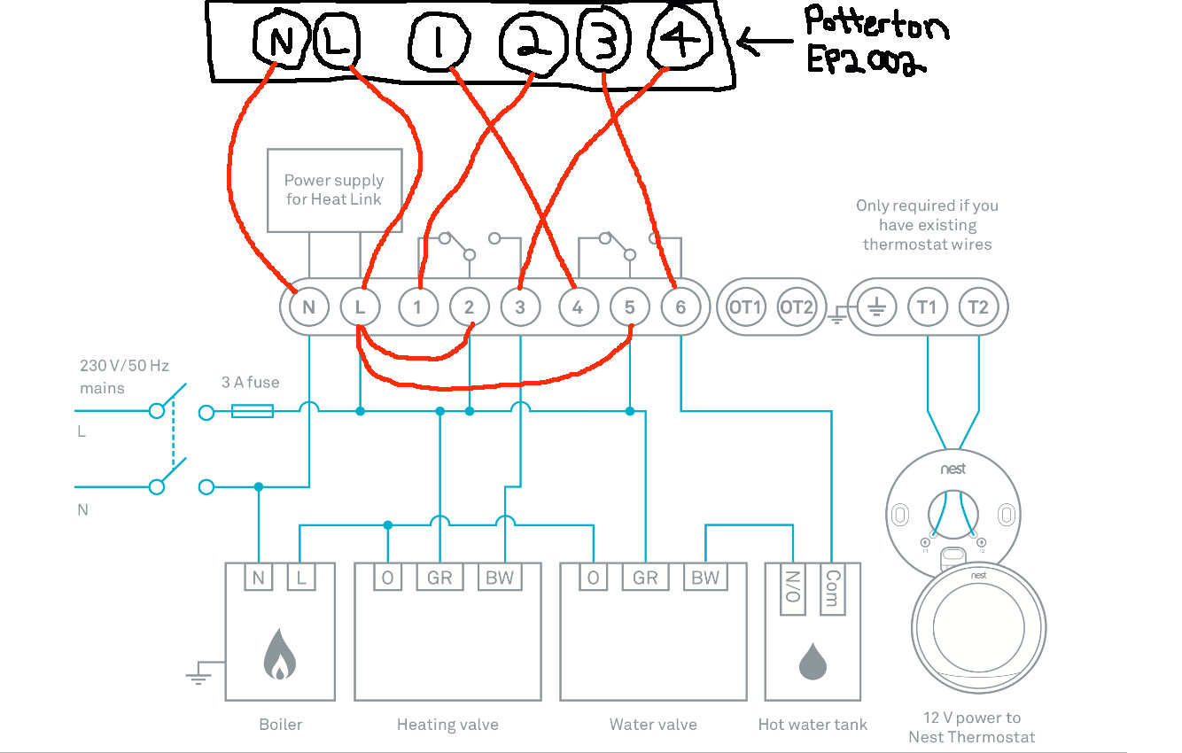 Nest 3rd Generation Wiring Diagram Uk Download Collection Pane Heat Pump Thermostat Typical Wire