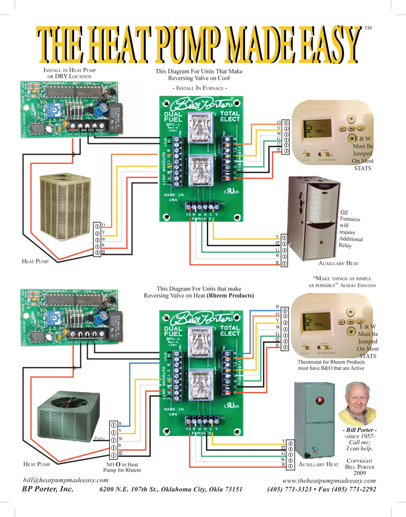 nest dual fuel wiring diagram Collection-BP Porter Controls with Braeburn thermostat 3 piece package image 4-c