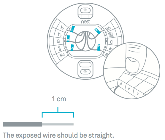 nest thermostat wiring diagram Download-Connect the wires to your Nest thermostat s base by following the wiring diagram that you got from the Nest patibility Checker 18-c