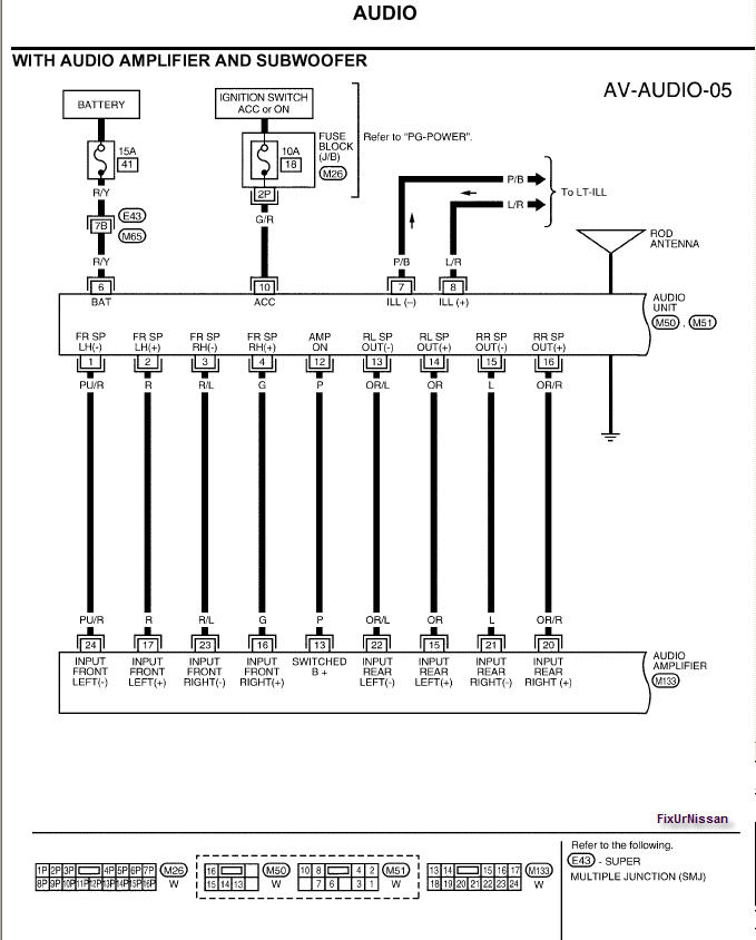 nissan titan rockford fosgate wiring diagram Download-Rockford Fosgate Wiring Wizard with Audio Amplifier and Ignition 19-c