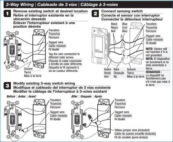occupancy sensor wiring diagram 3 way Download-electrical Can I add an occupancy sensor to a 3 way circuit 4-p