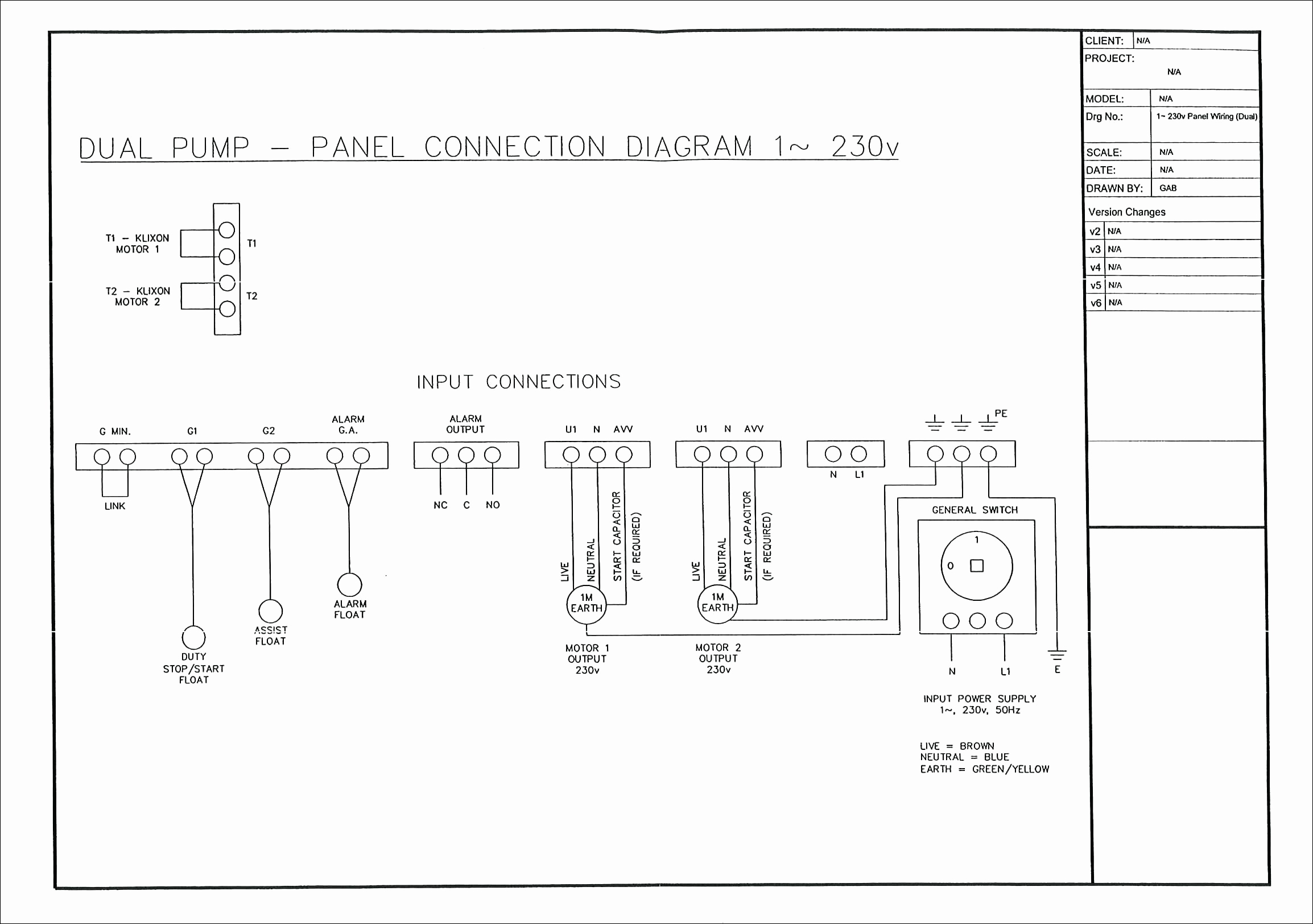 Orenco Systems Control Panel Wiring Diagram Gallery