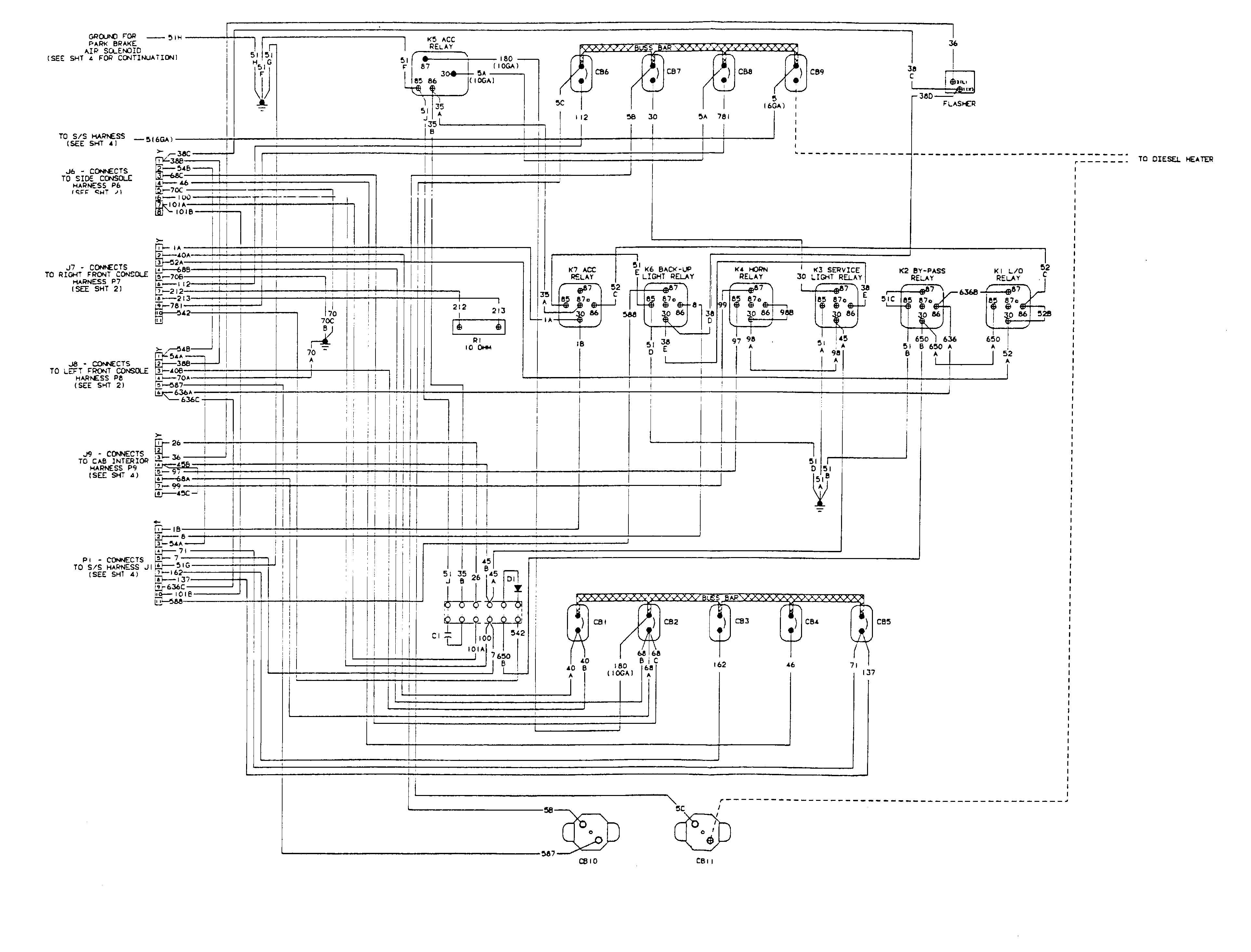 overhead crane wiring diagram Collection-Overhead Crane Electrical Engine Wiring Diagram Tm 5 3810 306 20 543 0 For 12-m