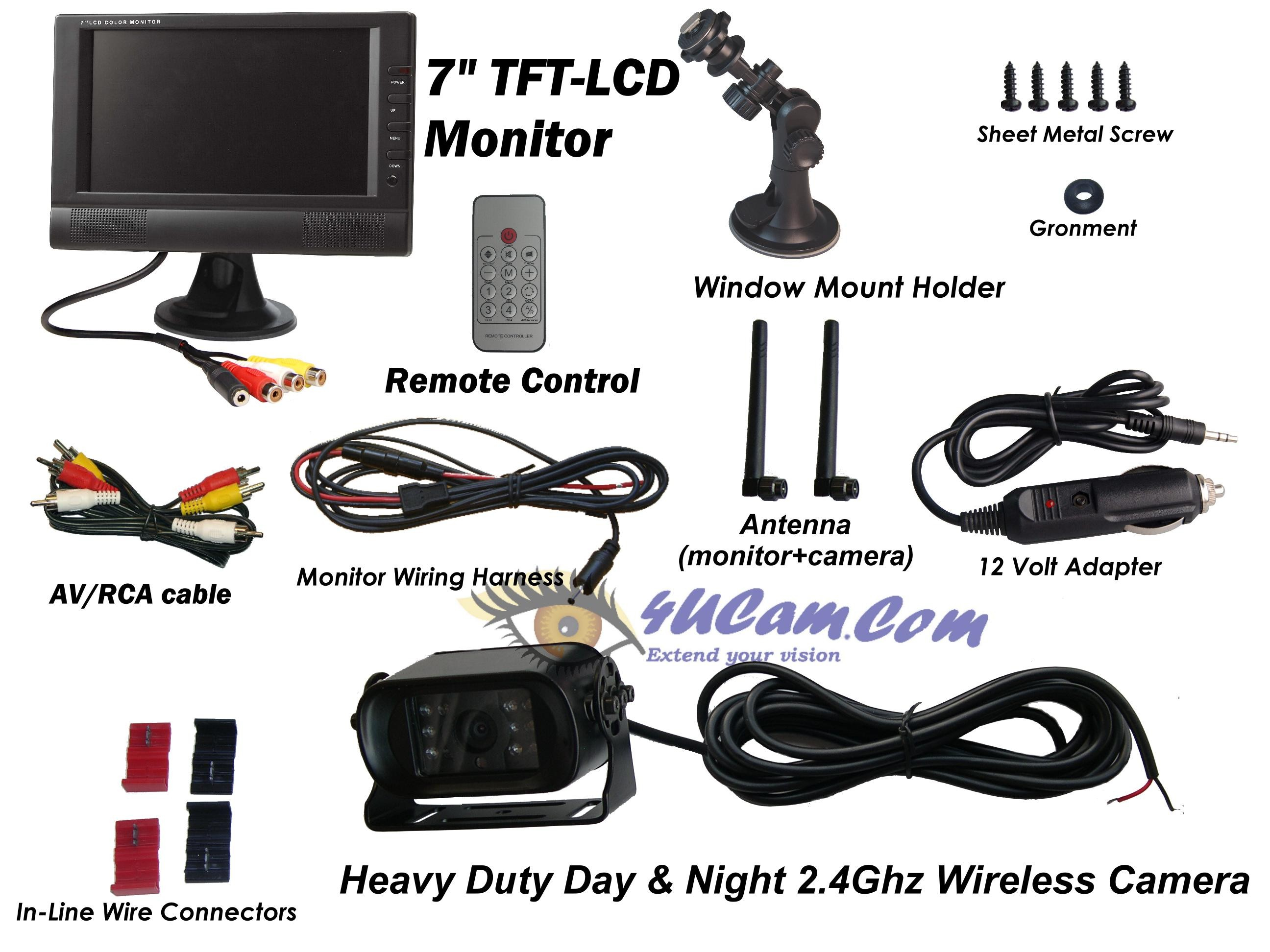 pillow tft lcd color monitor wiring diagram gallery. Black Bedroom Furniture Sets. Home Design Ideas