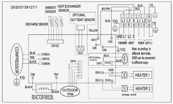 pioneer mini split wiring diagram collection