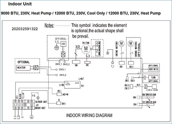pioneer mini split wiring diagram Download-Pioneer Air Conditioner Ac Mini Split Error Codes and 17-p