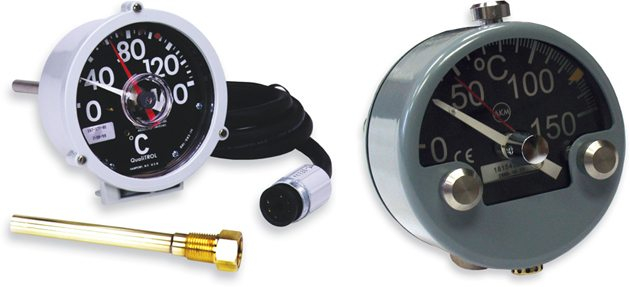 qualitrol liquid level gauge wiring diagram Download-QUALITROL 165 167 and AKM Side Mount Bi Metal Thermometer 5-m