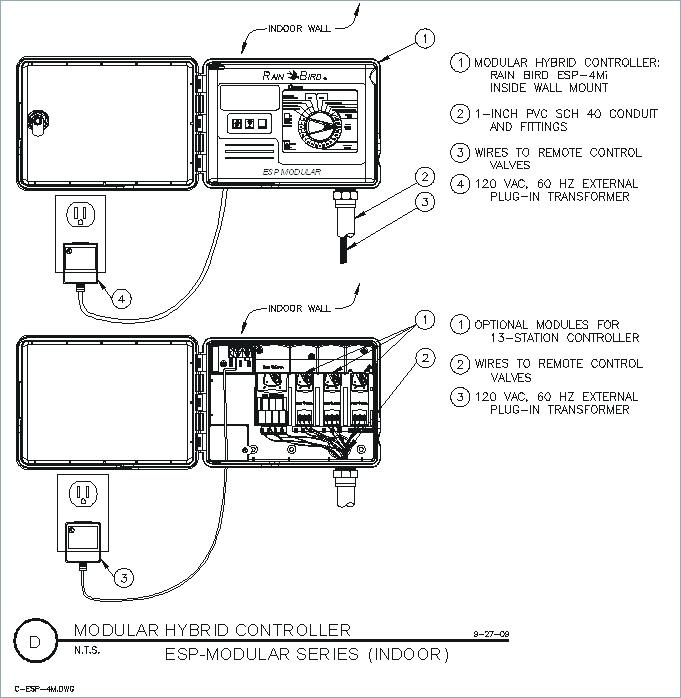rainbird sprinkler wiring diagram Download-rain bird esp modular controller troubleshooting rain bird cad detail drawings controllers rain bird esp smt rain bird 5-e